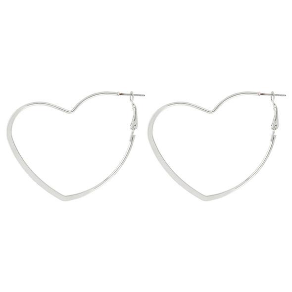 Creolen - Heart Shape