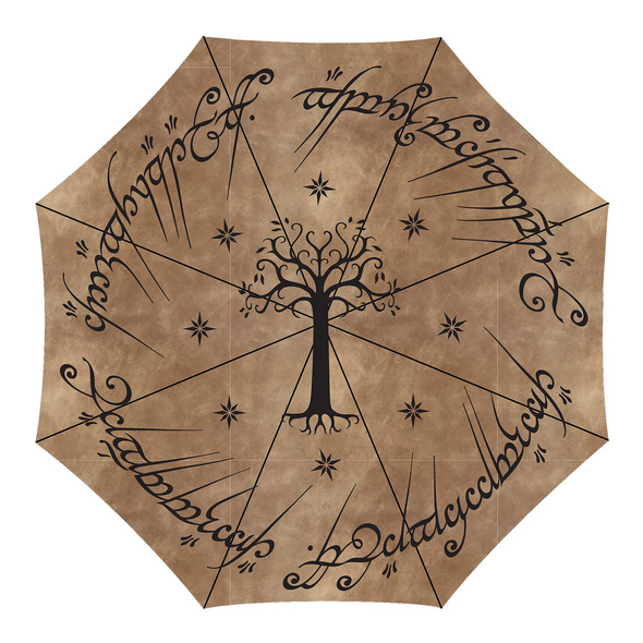 Herr der Ringe - Der Eine Ring Schirm mit Aqua Effekt