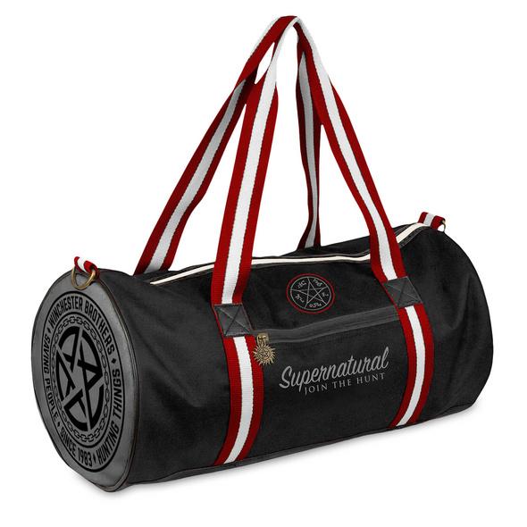Supernatural - Pentagramm Sporttasche schwarz