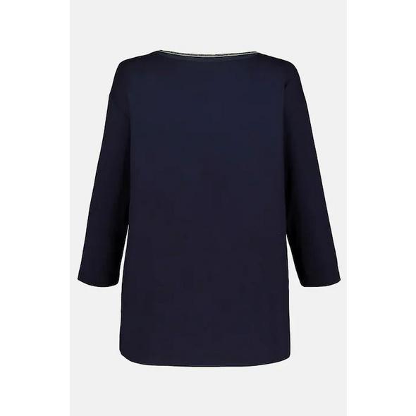 Shirt, Paillettendruck, Jerseyrücken, 3/4-Arm