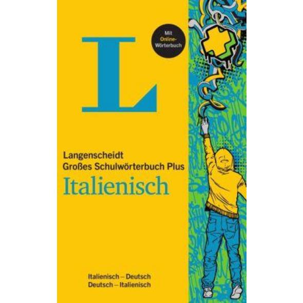 Langenscheidt Großes Schulwörterbuch Plus Italienisch