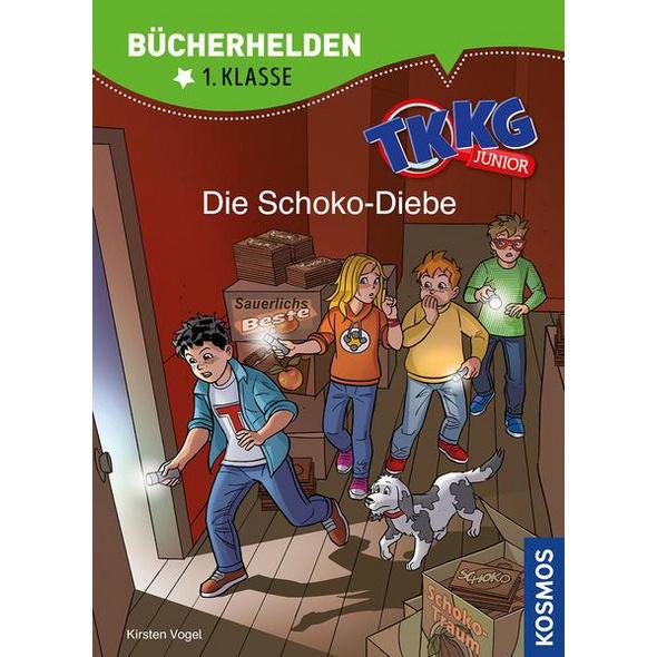 TKKG Junior, Bücherhelden 1. Klasse, Die Schoko-Diebe