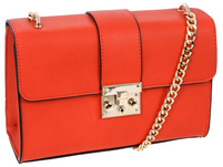 Handtasche - Modern Orange