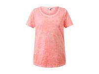T-Shirt in Used-Look, Rundhals, lockere Passform