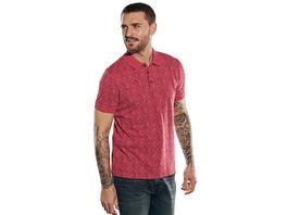 Sommerliches Poloshirt mit Print