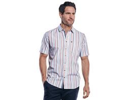 Kurzarmhemd im sommerlichen Streifendesign