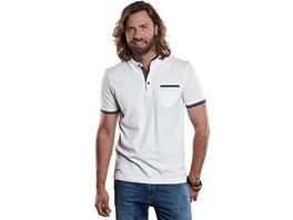 modisches Poloshirt Stehkragen