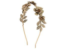 Haarreif - Gold Flower
