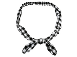 Haarband - Checkered Bow