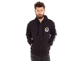 Overwatch - Logo Kapuzenjacke schwarz