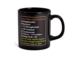 Legendärer Kaffeebecher - MMO Item Fan Tasse Level 120