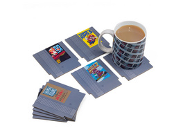 Nintendo - NES Games Untersetzer 8er Set