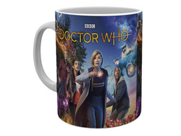 Doctor Who - Season 12 Characters Tasse