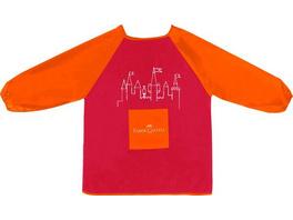Faber-Castell Malschürze für Kinder rot/orange