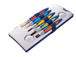 Pelikan Pinsel griffix Grundschule 5er Set